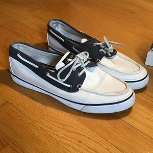 Sperry boat shoe size 9.5 like new